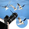 Universal Clip On 12X Zoom Mobile Phone Optical Camera Telephoto Lens Telescope for iPhone Android