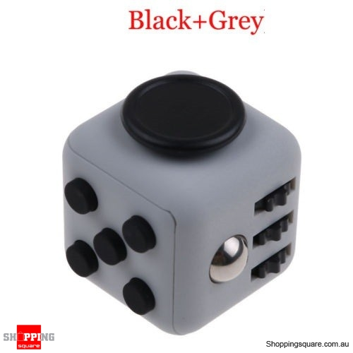 Fidget Kick Anxiety Stress Relief 6 Sided Cube Dice Toy