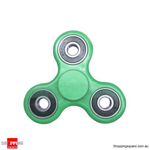 Hand Spinner Ball Toy for Desk Focus EDC ADHD Kids Adults Green Colour