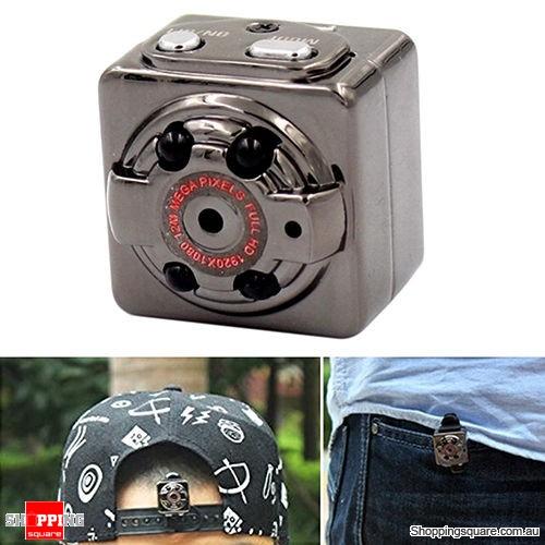SQ8 HD 1080P Portable Aluminum Mini Car DVR Video Camera Recorder Action Sports Hidden
