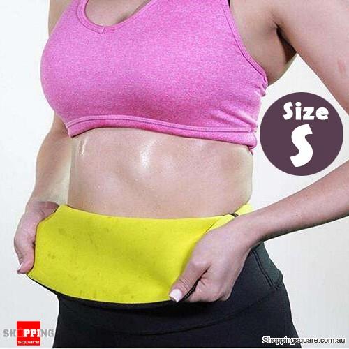 Slimming Stretch Neoprene Waist Belt Corset Body Shaper for Training S Size