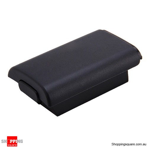 Replacement Black Battery Cover for Xbox 360 Wireless Controller