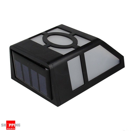 Solar Lights Home Bargains: Solar Powered Wall Mount LED Light Lamp For Outdoor Home