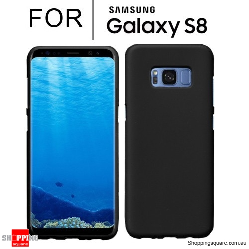 Soft Gel TPU Protective Case Cover for Samsung Galaxy S8 Black Colour