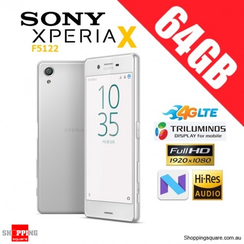 Sony Xperia X F5122 Dual Sim 4G LTE 64GB Unlocked Smart Phone White
