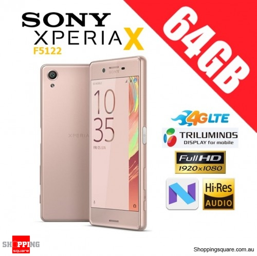 Sony Xperia X F5122 Dual Sim 4G LTE 64GB Unlocked Smart Phone Rose Gold
