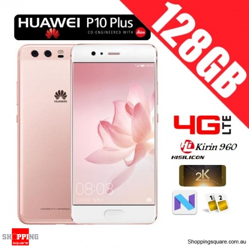 Huawei P10 Plus 128GB VKY-L29 Dual Sim 4G LTE Unlocked Smart Phone Rose Gold