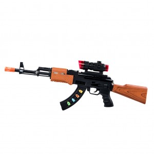 Electronic Toy Machine Gun Super Sniper Rifle with Scope