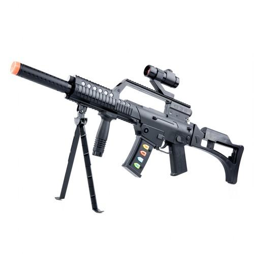 Electronic Toy Machine Gun with Sound