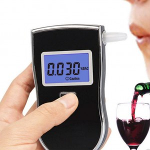 Portable Breathalyzer Digital Alcohol Breath Tester with LCD Display