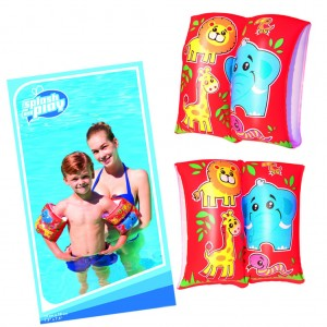 Bestway Inflatable Arm Band for Kids with Double Safety Air Chambers