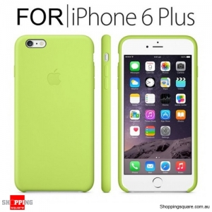 Genuine Apple iPhone 6 Plus Silicone Case Green Colour
