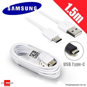 1.5M Genuine Original Samsung Type-C USB Data Charging Cable for Galaxy Note 8 S8 Plus LG G6