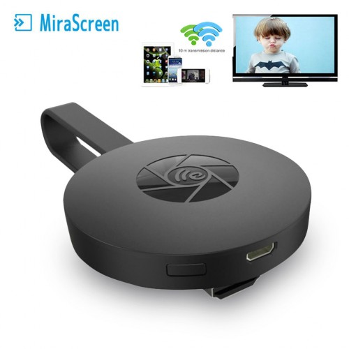 MiraScreen G2 Miracast 1080P WiFi TV Dongle Wireless Receiver HDMI DLNA AirPlay