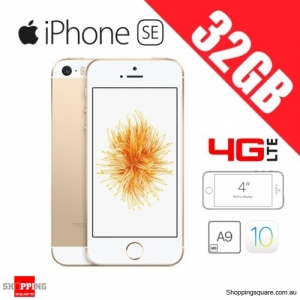 Apple iPhone SE 32GB 4G LTE 4 inches Unlocked Smart Phone Gold
