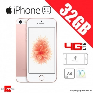 Apple iPhone SE 32GB 4G LTE 4 inches Unlocked Smart Phone Rose Gold