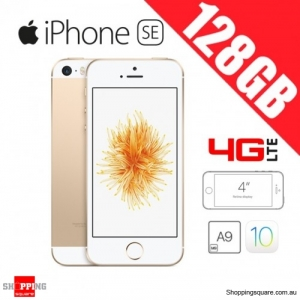 Apple iPhone SE 128GB 4G LTE 4 inches Unlocked Smart Phone Gold