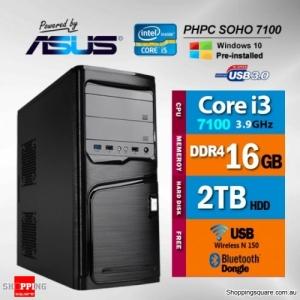 PHPC SOHO i3-7100 16GB RAM 2TB HDD