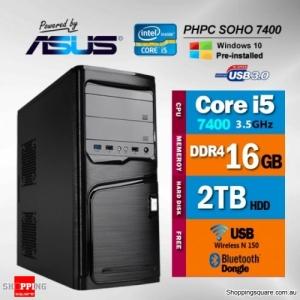 PHPC SOHO i5-7400 16GB RAM  2TB HDD