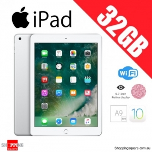 Apple iPad 32GB WiFi Tablet PC 9.7 inch Silver