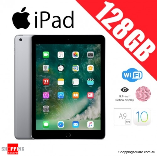Apple iPad 128GB WiFi Tablet PC 9.7 inch Space Gray