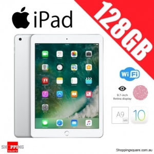 Apple iPad 128GB WiFi Tablet PC 9.7 inch Silver