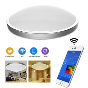 Remote Control Smart LED WiFi Ceiling Lamp