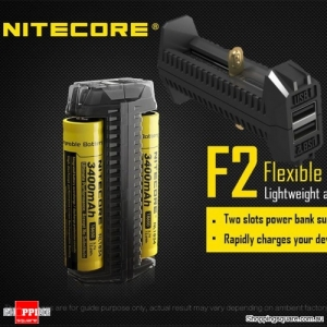 Nitecore F2 Flexible Power Bank Smart Battery Charger