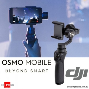 DJI OSMO Mobile handheld Gimbal Stabilizer for iPhone Android Black Colour