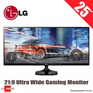 LG 25 Inch 21:9 2560x1080 Full HD UltraWide IPS LED Gaming Monitor (25UM58-P)