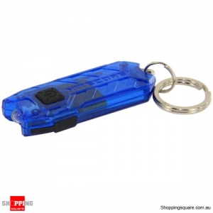 NiteCore T-Series 45LM Keychain Flashlight Rechargeable LED Flashlight-Blue