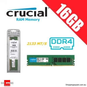 Crucial 16GB DDR4 CT16G4DFD8213 (1x16G) Crucial 2133MHz PC Computer Memory RAM Module