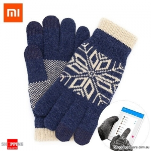 Original Xiaomi Wool Touch Screen Gloves for Smartphone Tablet PC