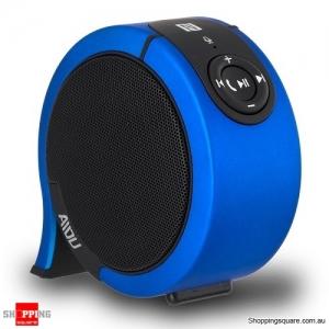 AIDU AY850 Portable Stereo Sound Wireless Bluetooth Speaker Blue Colour