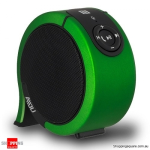 AIDU AY850 Portable Stereo Sound Wireless Bluetooth Speaker Green Colour