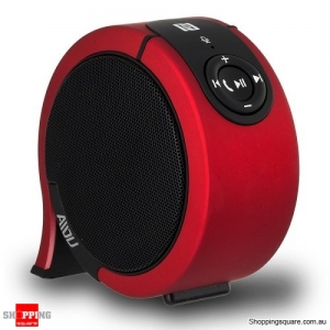 AIDU AY850 Portable Stereo Sound Wireless Bluetooth Speaker Red Colour