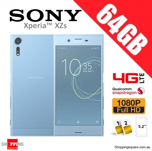 Sony Xperia XZs 64GB G8232 Dual Sim 4G LTE Phone Ice Blue - Faulty