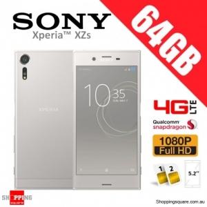 Sony Xperia XZs 64GB G8232 Dual Sim 4G LTE Unlocked Phone Warm Silver