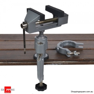 360 Degree Rotation Aluminum Alloy Table Bench Vice Work Bench Clamp Repair Tool