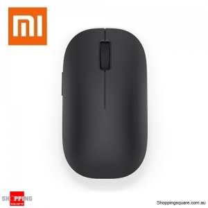 Genuine XIAOMI 2.4GHz 1200DPI Wireless Optical Mouse with 4 Buttons for Windows Laptop Black Colour