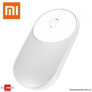Genuine Xiaomi Wireless Bluetooth 4.0 2.4G Dual Modes Mouse for Notebook Silver Colour