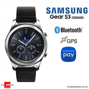 Samsung Galaxy Gear S3 Classic R770 Smart Watch Wi-Fi Bluetooth Silver