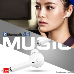 Wireless Earbud Bluetooth 4.1 Earphone Mini Headset Headphone for iPhone 7 6 6s White Colour
