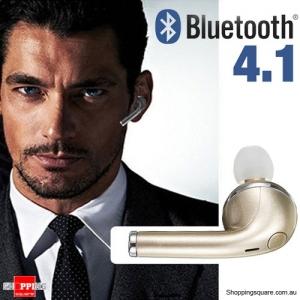 Wireless Earbud Bluetooth 4.1 Earphone Mini Headset Headphone for iPhone 7 6 6s Gold Colour