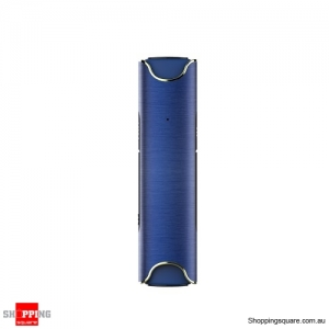 TWS S2 Bluetooth V4.2 Headset Built-in Mic IPX7 Waterproof with Charging Box Blue Colour