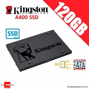 Kingston A400 SSD 120GB Solid State Drive SATA 3 6GB/s Laptop PC Notebook Up to 500MB/s