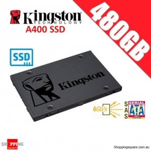 Kingston A400 SSD 480GB Solid State Drive SATA 3 6GB/s Laptop PC Notebook Up to 500MB/s