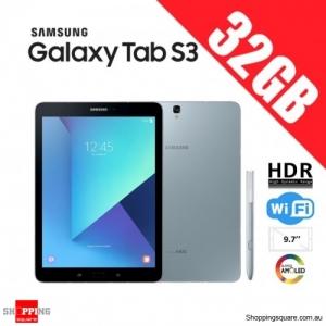 Samsung Galaxy Tab S3 32GB 9.7 inch T820 Wi-Fi HDR Silver