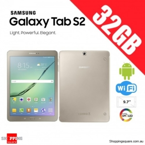 Samsung Galaxy Tab S2 32GB 9.7 inch T813 WiFi Tablet PC Gold