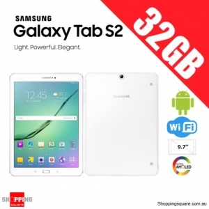 Samsung Galaxy Tab S2 32GB 9.7 inch T813 WiFi Tablet PC White